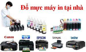 đổ mực máy in tại nhà, thay mực máy in tại nhà